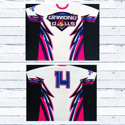 Diamond Dolls Custom Team Jerseys  #Custom #Apparel #Graphic #Designs #Athletic #Sports #Team #Unifo