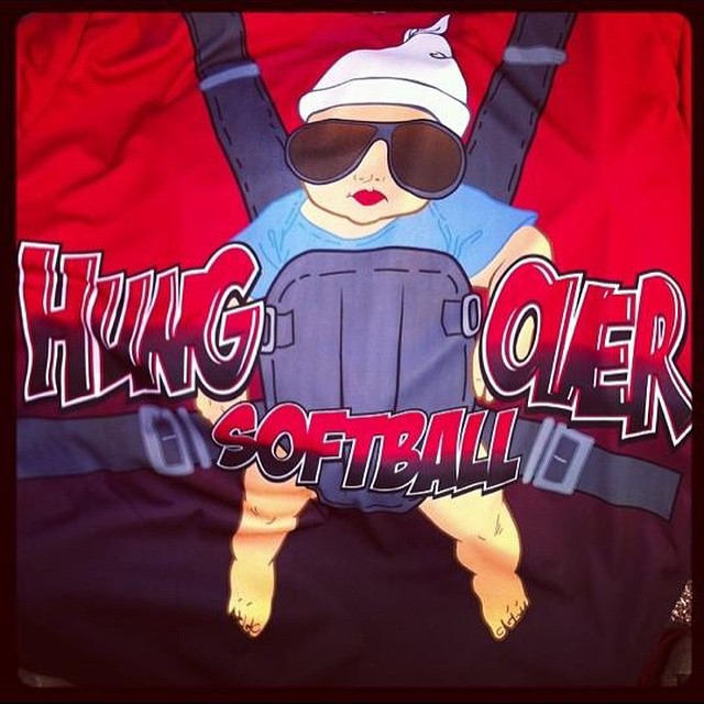 Hung over softball! #FullDyeJerseys #Swag #SwagSportswear