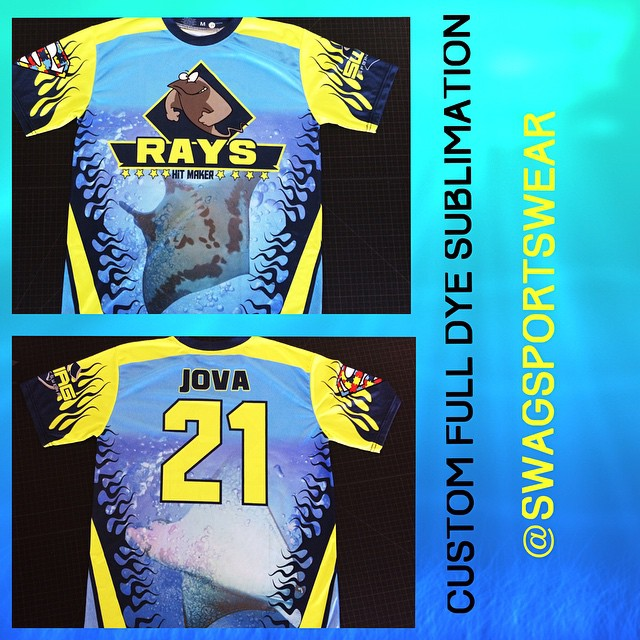 Full dye sublimation #custom #designs #florida #softball #sports #orlando #uniforms