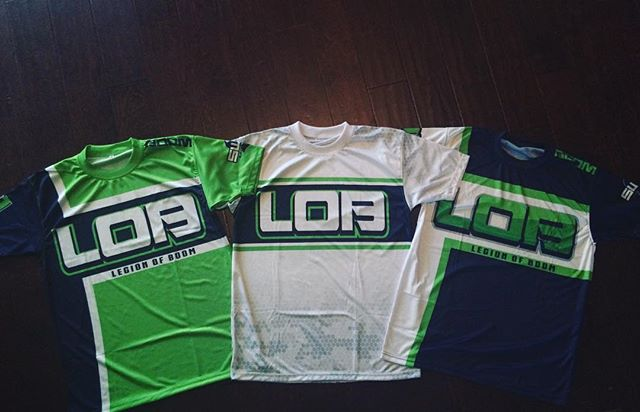 Legion of Boom Softball Uniforms  #softball #sports #uniforms #customapparel #tshirts #swagsportswea