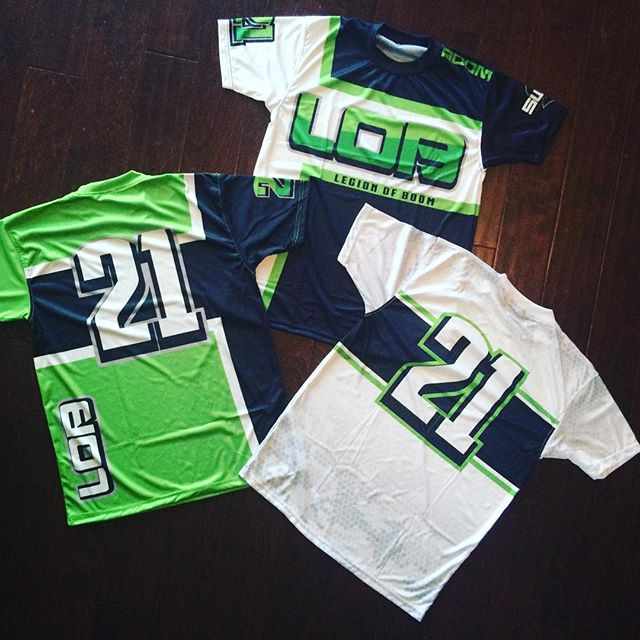 Legion of Boom Softball #Softball #Uniforms #sports #Orlando #florida #custom #uniforms