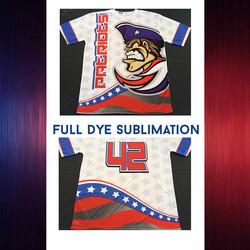 Patriots Pride 🇺🇸 #Swag #SwagSportswear #Custom #Softball #Uniforms #Design #Graphics #Orlando #Sp