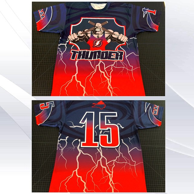Full Dye custom jerseys made by #SwagSportswear #Team #Jerseys #Custom #Designs #Apparel #Uniforms #