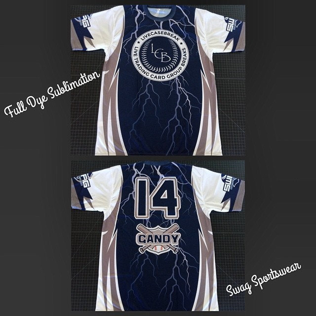 Full dye sublimation #Swag #SwagSportswear #Sports #Softball #MensSoftball #WomensSoftball #Custom #