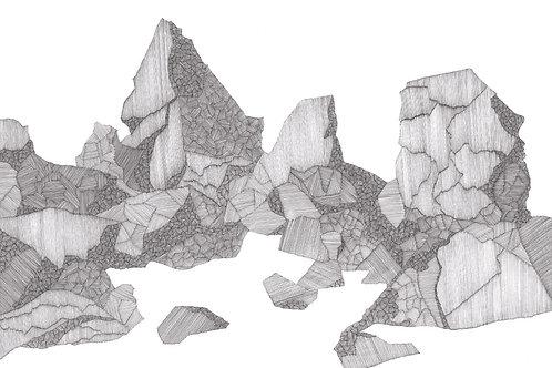 Shetland Series Print - Shetland Sphinx