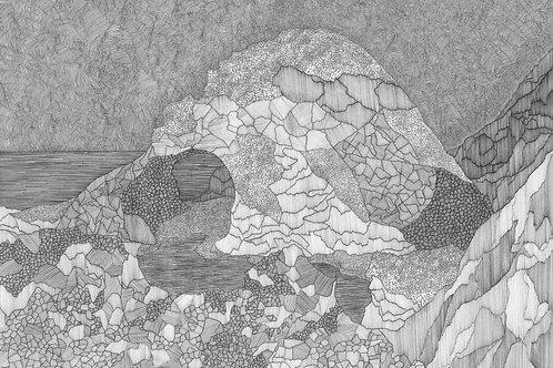Shetland Series Print - Hermaness