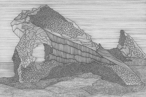 Shetland Series Print - Gaada Stack