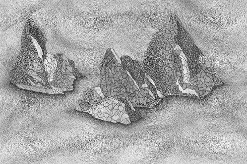 Shetland Series Print - Skerries
