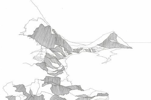 Shetland Series Print - Mucklabrek's Wick