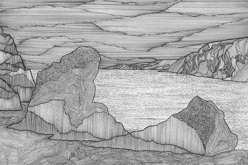 Shetland Series Print - Peerie Spiggie