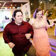 wedding reception with dj shaggi