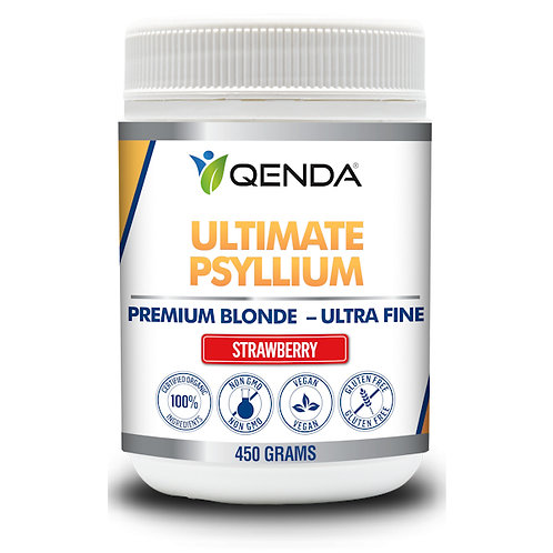 Qenda Ultimate Psyllium Strawberry