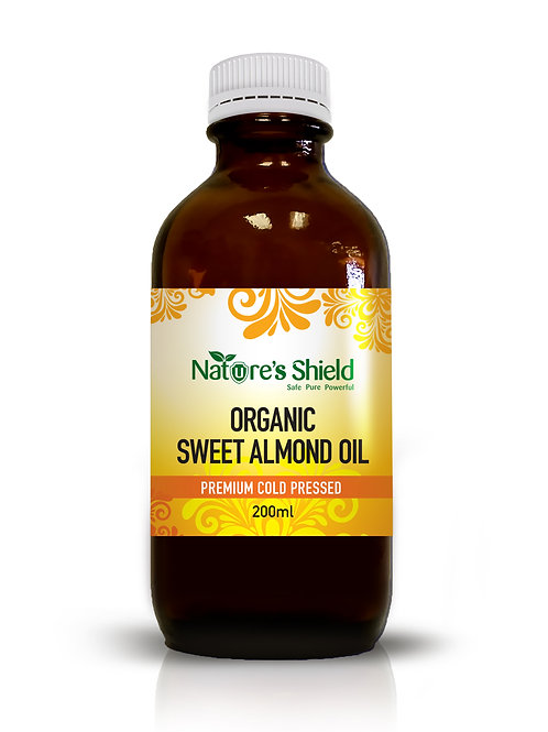 Organic Sweet Almond Oil 200ml