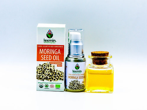 Lexmin Organic Moringa Oil 30ml