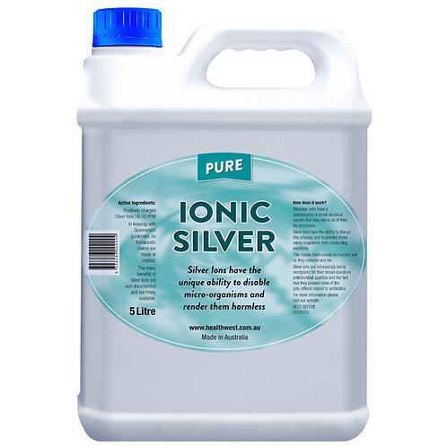 Pure Ionic Silver 5 Litre