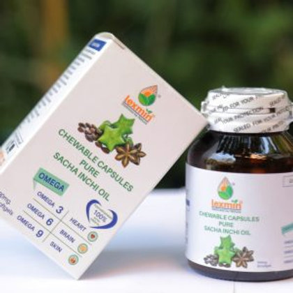 Lexmin Natural Sacha Inchi 60 Capsules