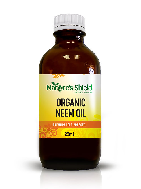 Organic Neem Oil 25ml