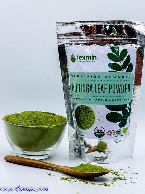 Lexmin Organic Moringa Leaf Powder