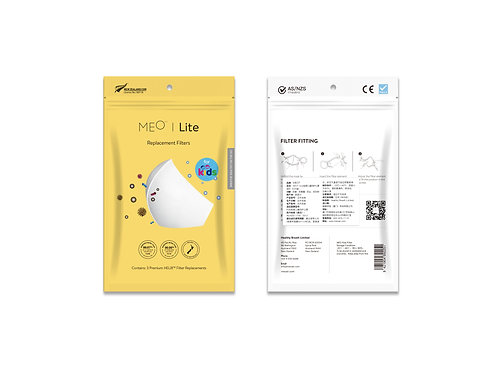 Meo Lite Kids Replacement Filters  (3 Pack)