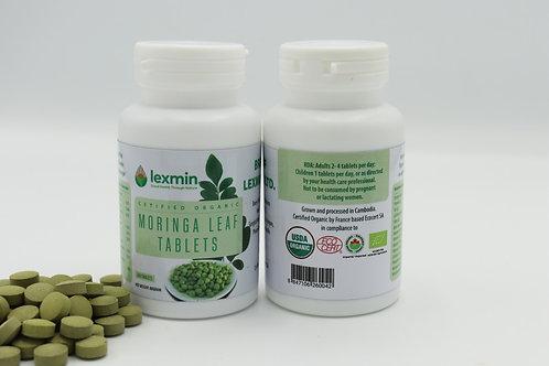 Lexmin Organic Moringa Leaf Tablets 200 tabs