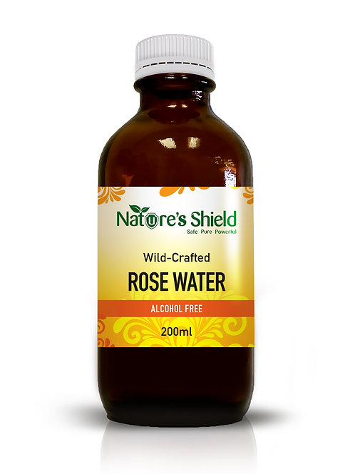 Wild crafted Natural Rose Water 200ml