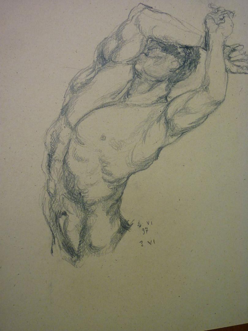 graphite, 1997, 11 x 14, signed