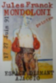 """Featured painting collected by le Musée National Du Sport (Parc des Princes), Paris, 9 limited edition lithographs, 1991, 17 x 25"""""""