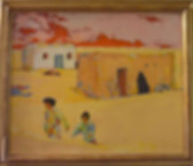 "Untitled, acrylic/canvas, 21.5 x 13"""