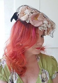 Hat 48. Divine 50s hat with substantial