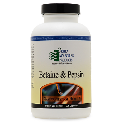 Betaine & Pepsin 225 count