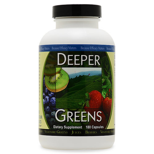 Deeper Greens Capsules 180 count