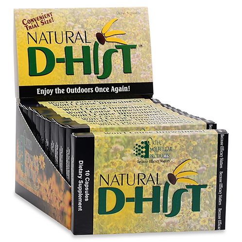 Natural D-HIst 120 CT Blisters