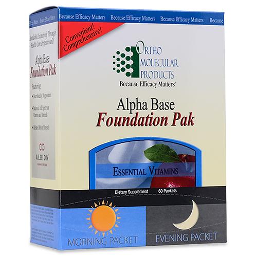 Alpha Base Foundation Pak 60 count