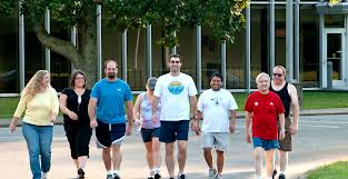 diabetes group walking