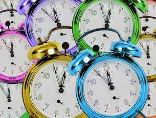 When do the clocks go forward?