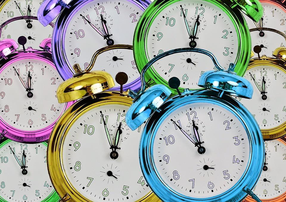 Clocks spring forward