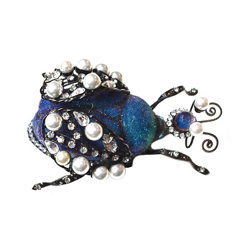 Huge Vintage Larry Vrba Bug Brooch