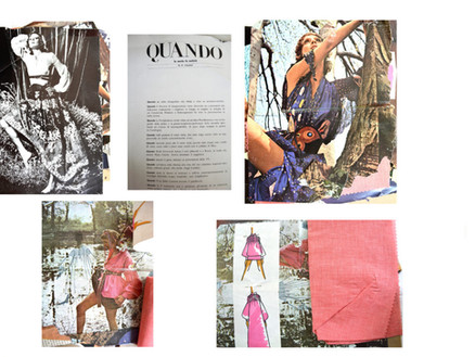 Fashion and Accessories History Spotlight: Anne Klein's Summer of 1971 Sketchbook