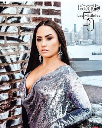 Demi in People Magazine