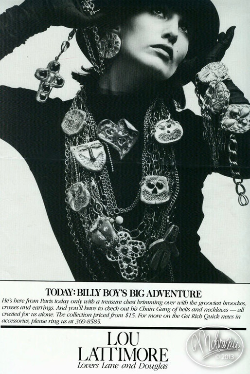 Jewelry According to BillyBoy*: An Interview with the Avid Collector of Haute Couture Accessories.