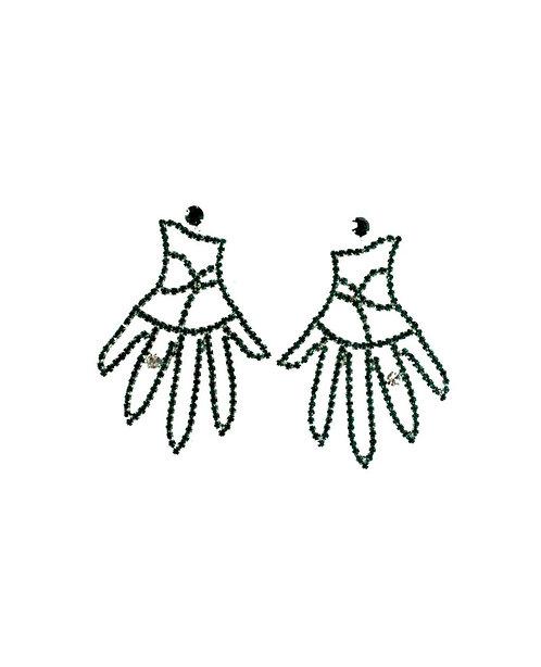 Palm reader earrings