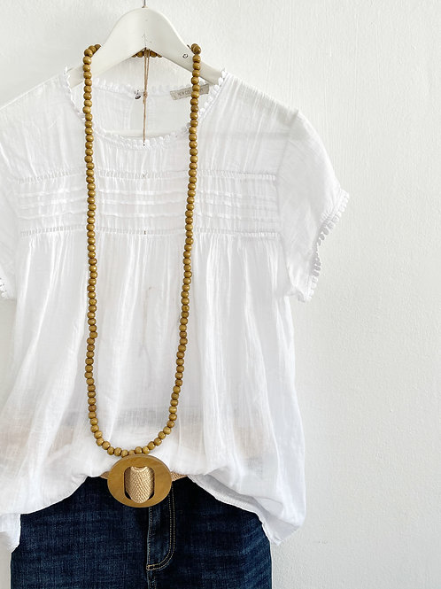 Blusa Helen blanca
