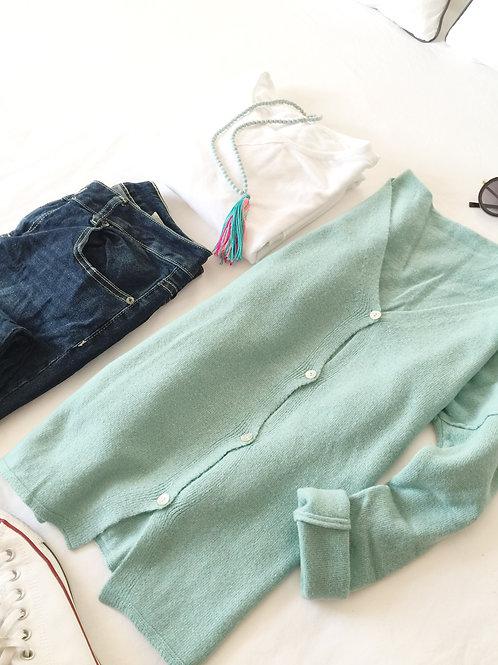 chaqueta Simoneta verde agua
