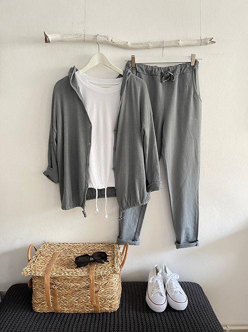 pantalón Básic chandal gris