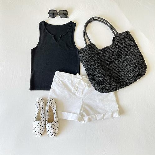short Milos blanco