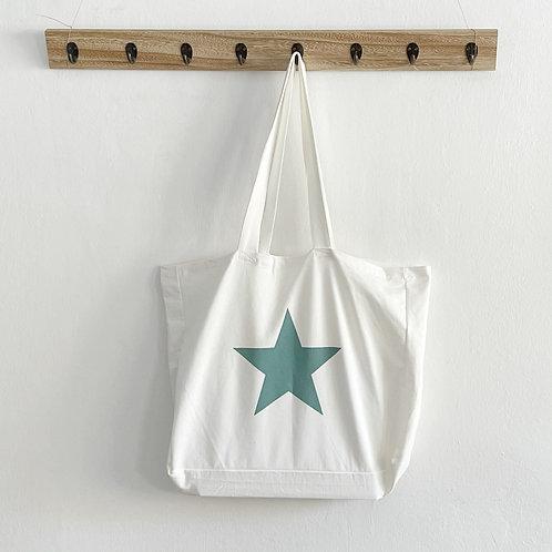 bolsa Estrella verde