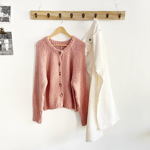 chaqueta Beret rosa