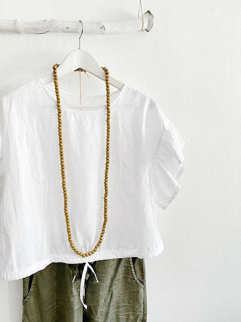 blusa Annie blanca