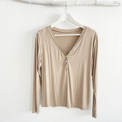 camiseta Biarritz beige