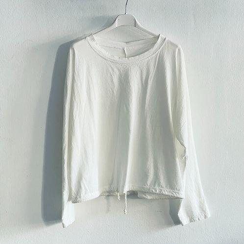 Camiseta cordón blanca
